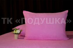 Купить розовые махровые наволочки на молнии во Владимире