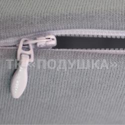 Серый трикотажный пододеяльник на молнии | ТМ Подушка
