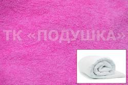 Купить розовый махровый пододеяльник  ТМ Подушка во Владимире