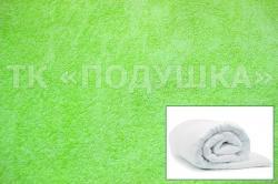 Купить салатовый махровый пододеяльник  во Владимире